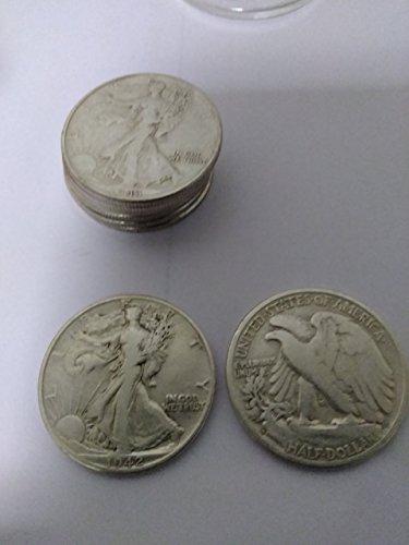 90% Fine Silver Half Dollars (1940-1964) VG Better