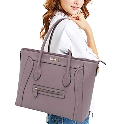 - Laptop Bag for Women,14-15.6 Inch Laptop Tote Bag Work Briefcase Office Business Computer Bag(2014-purple)