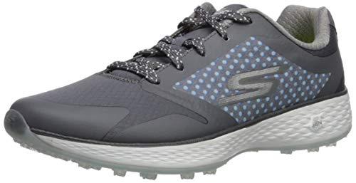 Skechers Performance Women's Go Eagle Lead Golf-Shoes,charcoal/blue,9 M US