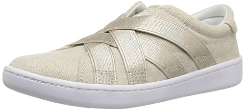 Keds Girls' Ace Gore Sneaker, Gold, 4 Medium US Big Kid