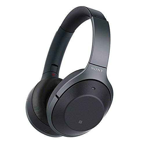 Sony WH1000XM2 Premium Noise Cancelling Wireless Headphones (International version/seller warranty) (Black) by Sony