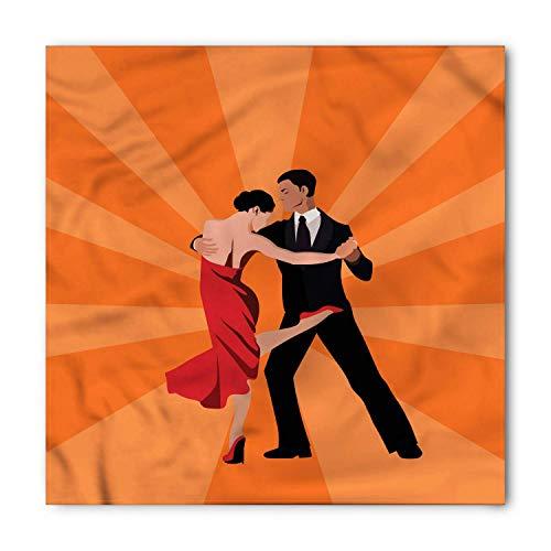 Argentina Bandana, International Tango Day, Unisex Head and Neck Tie