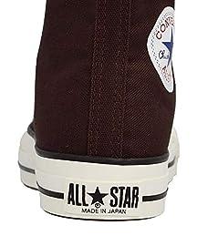 Canvas All-Star J Hi: Dark Brown