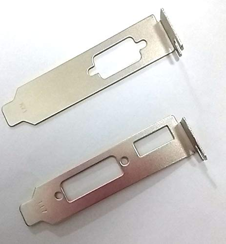 coolxan Low Profile/Half Height Hight Bracket Adapter Hdmi + DVI + VGA for ATI Nvidia Video Graphics ()