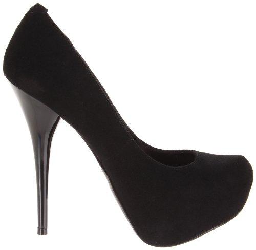 2 20 Gorgeous Day suede platform Pleaser 8 5 Suede amp; Blk sexy Night pumps heels high xFPnInqT