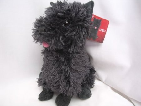 Wizard of Oz Plush Toy Toto Terrier Dog ; 10' Kohls Halloween Black Dorothy Collectible