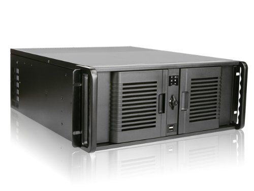 iStar D Storm D-400-7P 4U Rackmount Server Chassis (Black)