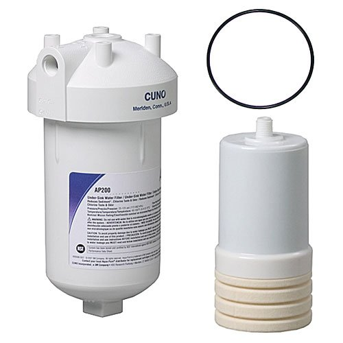 AP200 Drinking Douse System by 3M AquaPure with Spare O Ring and Extra Cartridge by KleenWater