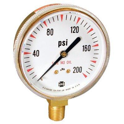 Welding & Compressed Gas Gauges - 1-1/2