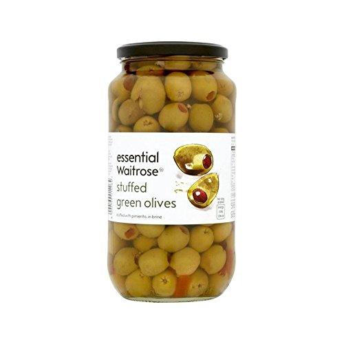 Pimento Stuffed Olives Waitrose 935g