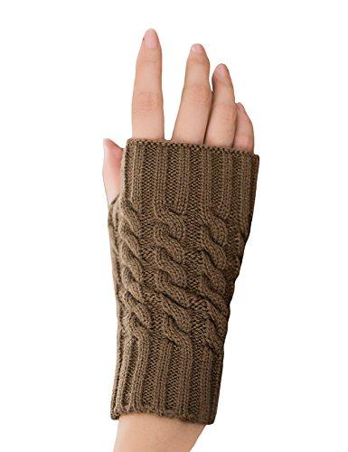 Jueshanzj Gloves Knitted Mitten Winter Warm