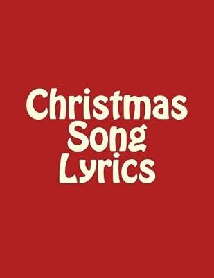 christmas song lyrics christmas singalong volume 1 large print