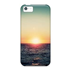 Perfect Ocean Sunset Case Cover Skin For Iphone 5c Phone Case