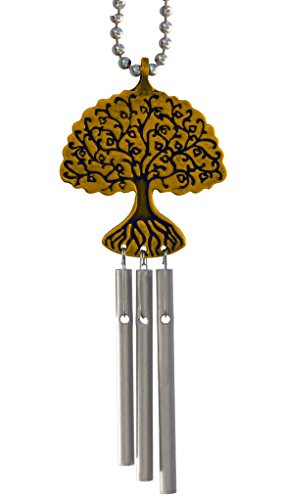 Car Musical Wind Chimes Tree of Life - Made in USA ()