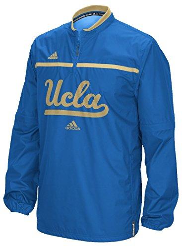 (UCLA Bruins Adidas 2015 Sideline 1/4 Zip Climalite Convertible Jacket)