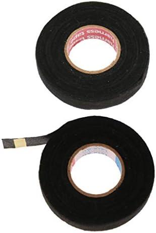 D DOLITY 2ピース/個自動車カートラックノイズダンピングルームワイヤーハーネスクロス電気テープ