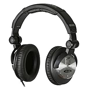 Ultrasone HFI-580 S-Logic Surround Sound Professional Closed-back Headphones with Transport Bag