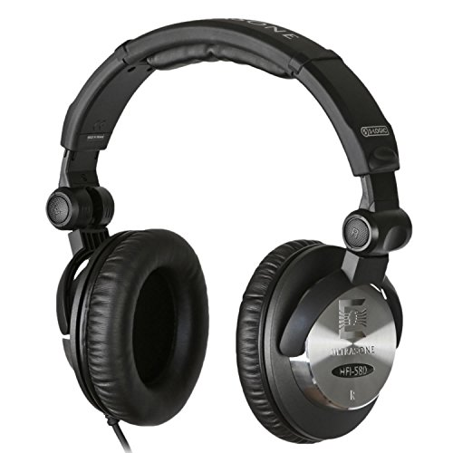 Ultrasone HFI-580 S-Logic Surround Sound Professional Closed-back Headphones with Transport Bag by Ultrasone