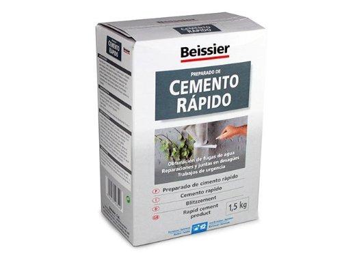 Beissier M37233 - Cemento gris rá pido, 1.5 kg Desconocido