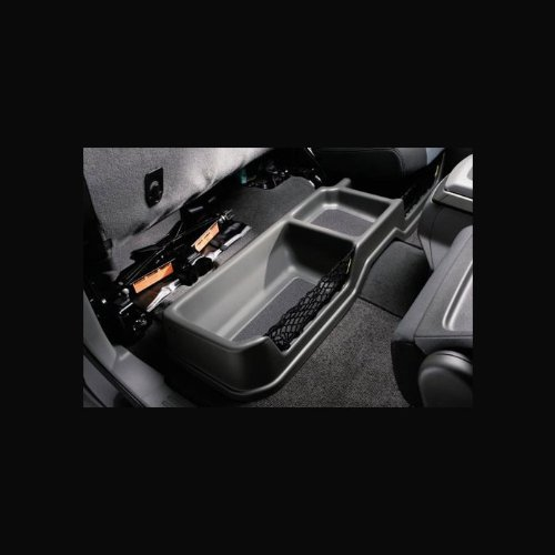 2008-2012 Nissan Titan King Cab Charcoal Rear Under-Seat Storage Bin 999C2-WU002