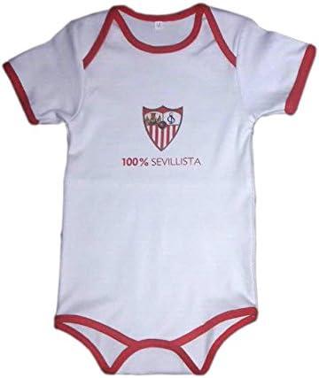 Sevilla CF 06BOD02-18 Bodsev Body, Bebé-Niños, Multicolor (Blanco/Rojo), 18: Amazon.es: Deportes y aire libre