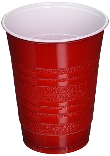 Daily Chef Red Plastic Cups (18 oz, 252 ct.)