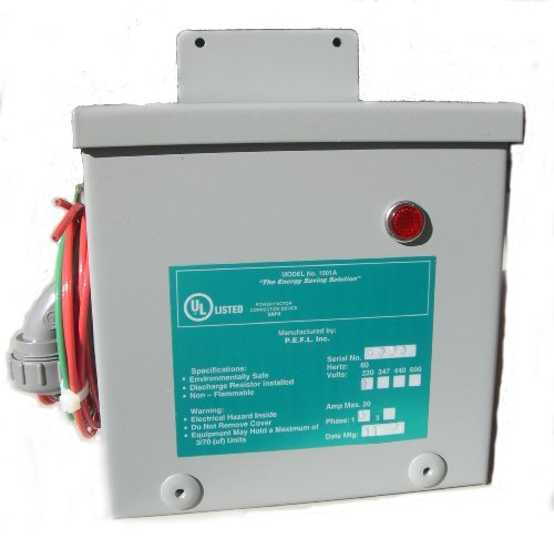 (Kvar Energy Saving and Power Factor Correction, Whole House Surge Protection for 200 AMP Service)