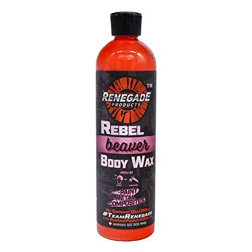 Renegade Rebel Beaver Automotive Carnauba Blend Wax