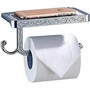 Leyden TM Bathroom Toilet Roller Paper Holder Lavatory Accessories Wall maounted Antique Brass Finished Leyden Fashion Home CECOMINOD066534