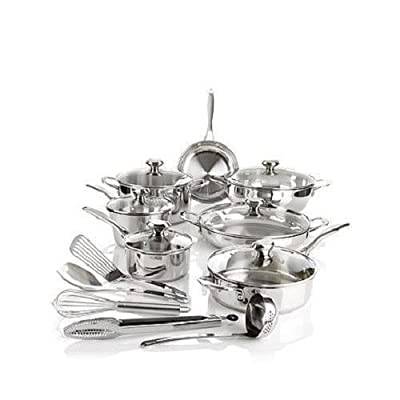 "(Ship from USA) Wolfgang Puck Bistro Elite 18-piece ""Favorites"" Cookware Set /ITEM NO#8Y-IFW81854282245"