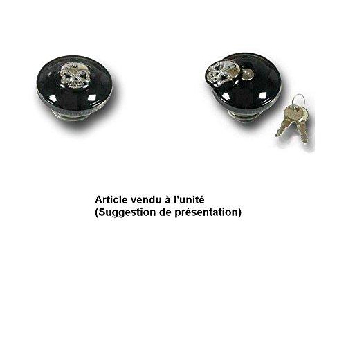 Bouchons Reservoir ventilé Skull à clefs pour modèle Harley Davidson AMT CUSTOM 51/688703