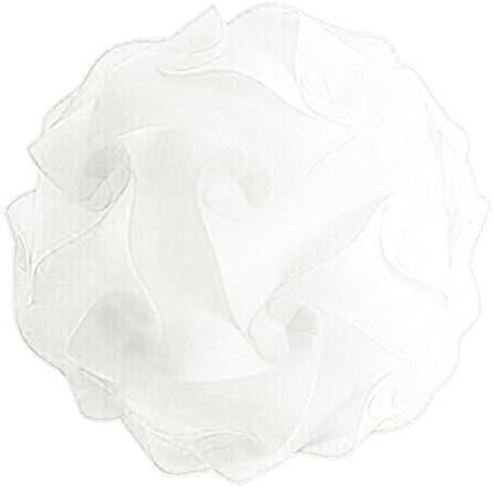 25 cm Blanco WOVELOT DIY Pantalla De Lampara Moderna Novela Iq De Rompecabezas De Bola Colorida Ajustable para Lampara De Techo Led