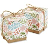 "Kate Aspen ""Floral Dreams"" Floral Favor Box, Set of 24"