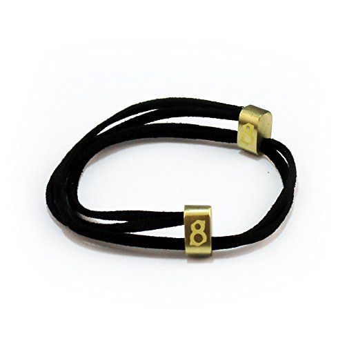st8te- Men's & Women's Adjustable Soft Suede Leather Bracelets (Jet Gold) Jet Gold Bracelets
