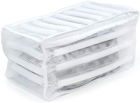 Amazon.com: Durable acolchado neto bolsa de aseo Zapatillas ...