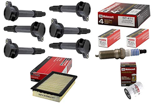 Price comparison product image Tune Up Kit 2012 Ford Fusion 3.5L-V6 Ignition Coil DG520 Spark Plug SP411