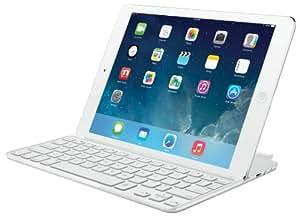 Logitech Ultrathin Keyboard Cover for iPad Air, White