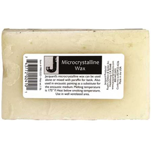 Jacquard Micro Crystaline 1lb Jacquard Wax Products (Wax Batik)