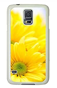 Sunflower 10 White Hard Case Cover Skin For Samsung Galaxy S5 I9600
