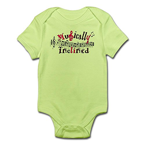 CafePress Musically Inclined Infant Bodysuit - Cute Infant Bodysuit Baby Romper