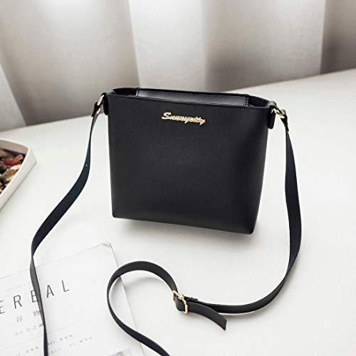 Shoulder Messenger Black Crossbody Kanpola Coin Bag Fashion Women Phone Z1RSXE