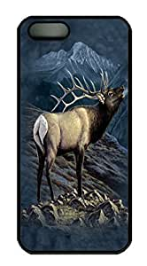 iPhone 5c Cases & Covers Exalted Ruler Elk Custom PC Hard Case Cover for iPhone 5c Black