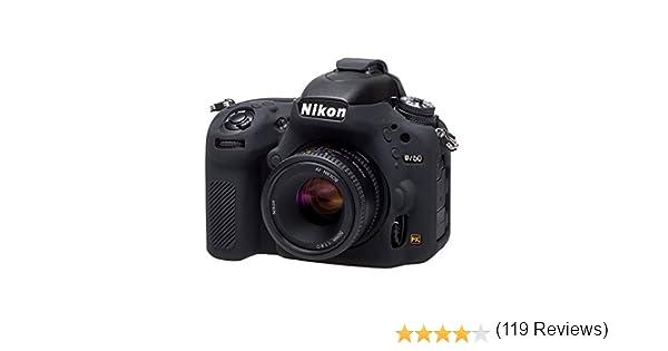 Easycover ECND750B - Funda de Silicona para Nikon D750, Color ...