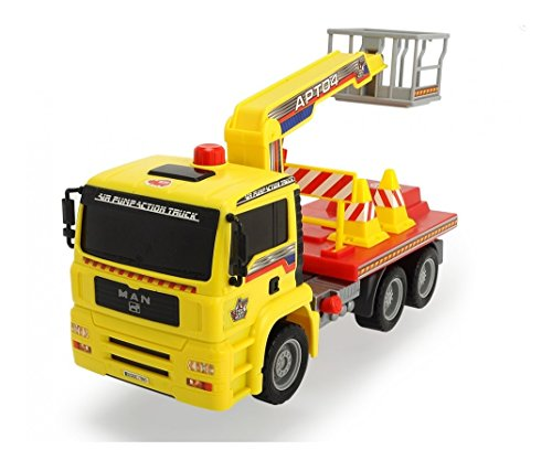 Dickie Toys Air Pump Action Cherry Picker Truck, 11