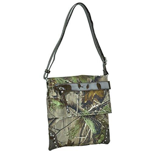 W Camouflage in Bag Rt1500670 Purses Crossbody Camo Coffee Handbag Messenger Trim Coffee Bag Camo Dasein Realtree fOqdwtt