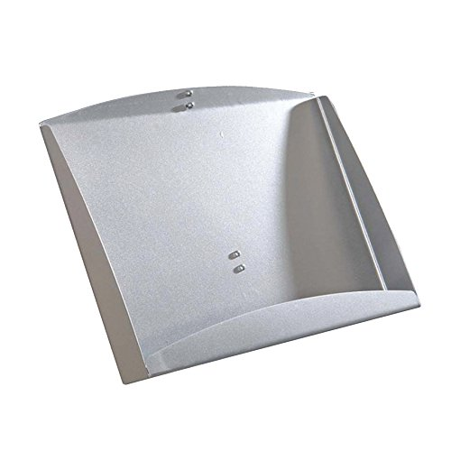 "Azar 300273-SLV 18"" W x 13"" H Steel Brochure Shelf for Sky Tower Display"