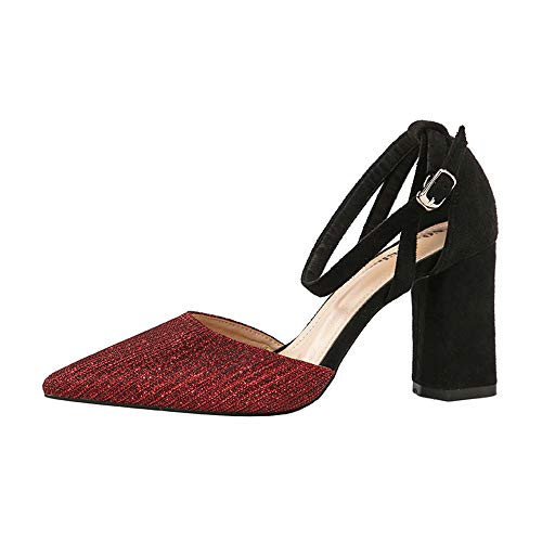 1038 Red 36 Renly Femme 5 8 55 Escarpins Rouge OxwwZ5Pqn