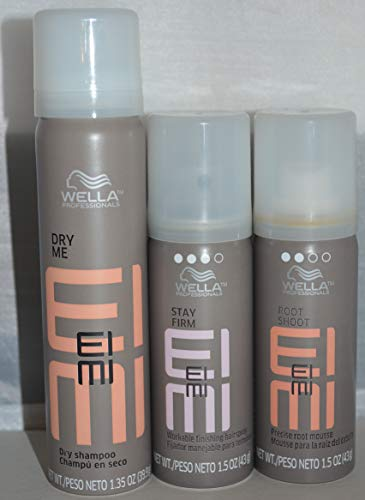 Wella EIMI Dry Shampoo , Stay Firm , Root Mousse 1.5oz Trave