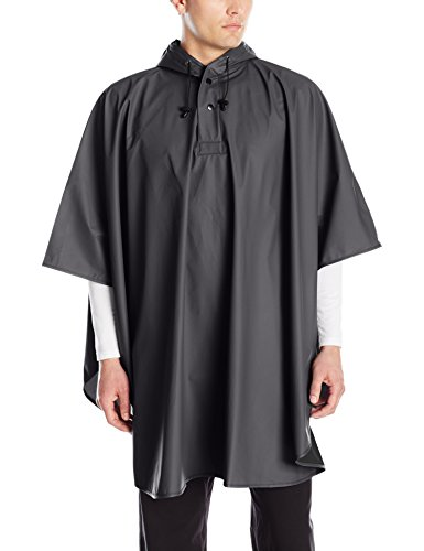 Charles River Apparel Men's Pacific Poncho, Black, One Size