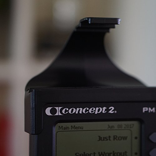 LiveRowing Concept 2 Rowing Machine Smartphone Holder - FREE Fitness App - Fits Most iPhones and iPods - Holds Your Smartphone While Working Out on Your Erg Machine
